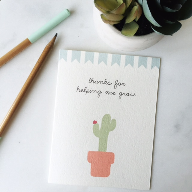 Free Printable Teacher Thank You Card Phew Frella